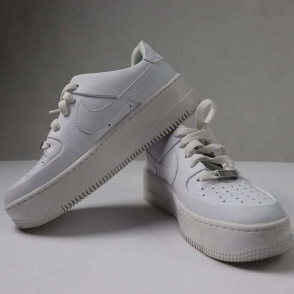 low priced 8ca27 3e462 All White Air Force 1's